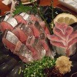うまいもの 楽味 - 秋刀魚の刺身