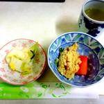 水口寿志亭市場の食堂  - 小鉢