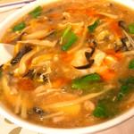 香港料理 麒麟閣 - サンラーメン
