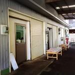 水口寿志亭市場の食堂  - 店舗入り口