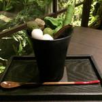 茶寮 翠泉 - 翠泉パフェ(1,180円)