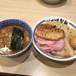 62044354 - 170129特製濃厚豚骨魚介つけ麺1000円温盛り