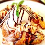 WIRED CAFE Dining Lounge - バナナショコラフレンチトースト