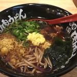 肉肉うどん - 肉肉そば(680円)