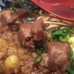肉肉うどん - お肉ゴロゴロ(^^)