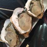 魚草 - 生牡蠣(大)(^∇^)