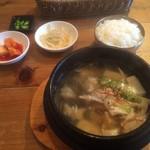 くんむる食堂 サンギュ - 干しだらのスープの定食