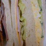 サクラベーカリー - ハムチーズ