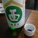 日本酒セルフ飲み放題 天満の店 - 日高見 純米 初しぼり