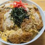 狩野食堂 - 料理写真:カツ丼:700円/2017年2月