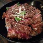 Red Rock - ステーキ丼(並)950円