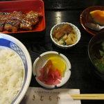 6206067 - 長焼き定食(並)1,200円