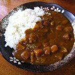 坊ちゃん - カレーライス中辛スープ付600円