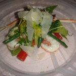 トゥリオ - 手長エビと色々な野菜のサラダ仕立て