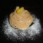 トゥリオ - バニラジェラートのモンブラン仕立て