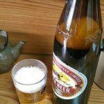 とん水 - 瓶ビール大 600円
