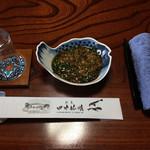 Tanakaryokan - 料理写真:特製ポン酢で頂きます。