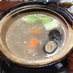 田中旅館 - 具材に良い出汁が染み込みます。