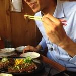 がんじゅうおばぁの台所 ゆらてぃく - 本場で食べるのが、やっぱり美味しい(*'▽')