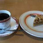 カフェ くらうん - 料理写真:ケーキセット