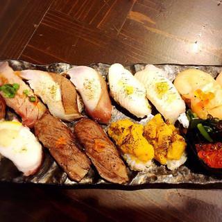 世界三大漁場、三陸沖で獲れた新鮮魚介と鮨をあがらっせ!