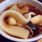 高柳製麺所 - 料理写真:ひもかわ アップ