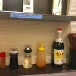 62071112 - テーブルセット                       酢や香醋はどうもためらいます。