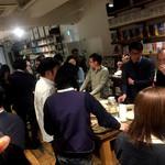 トウキョウ アオヤマ グローカル カフェ - 試飲交流会風景