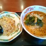 四川園 - チャーハン担々麺セット