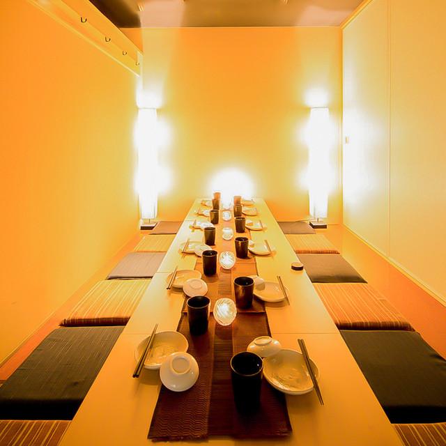 座席 : 地酒・鮮魚 個室居酒屋 陽炎 金沢片町店 (kagerou) - 野町 ...