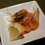 今澤 - [料理] 前菜 揚げ海老 アップ♪w