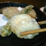 今澤 - [料理] ミニ帆立の天ぷら アップ♪w
