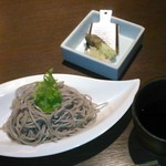 今澤 - [料理] 特製十割蕎麦 セット全景♪w