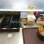 ふじやま食堂 - 2017年1月 かき揚げそば 520円