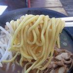 徳島中華そば 徳福 - この麺は旨いです(*^^)v