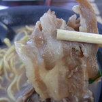 徳島中華そば 徳福 - 徳島ラーメンにはやっぱり肉だね(*^^)v