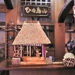 ひな鳥山 - 水車小屋のミニチュア