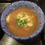 麺屋 中川會 - 濃厚魚介つけめんのつけ汁