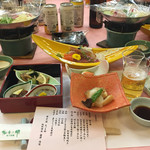 陽日の郷あづま館  - 料理写真:宴会料理