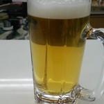 かゞみ屋 - かゞみ屋 生ビール