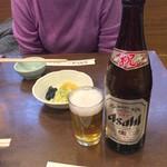 神田きくかわ - 瓶ビール630円