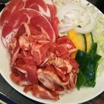 アサヒビール園 白石 ピルゼン - 丸肉・生ラム・焼き野菜