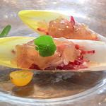 ラ プチット - ズワイガニのサラダ仕立て オマールのジュレ