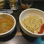62085606 - 牛ホルモンつけ麺