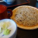 麺房高松庵 - 料理写真:ざるそば(\520税込み)