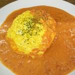 オムライス&cafe STYLE - トマトクリームソースのオムライス