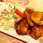 さち福やCAFE - 鶏と根菜の甘酢あんかけ定食