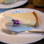 ラ・クール・カフェ - レアチーズケーキ