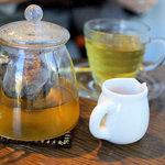 ラ・クール・カフェ - ゆず茶