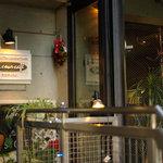 ラ・クール・カフェ - 入り口です